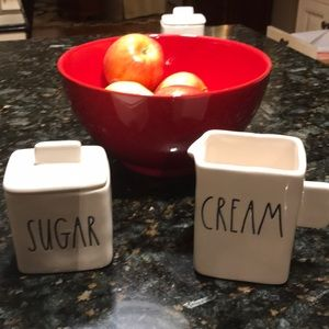 Rae Dunn Cream & Sugar🍎🍎🍎